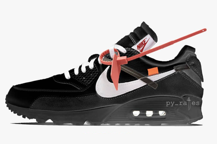 Off-White Nike Air Max 90 Black AA7293-001