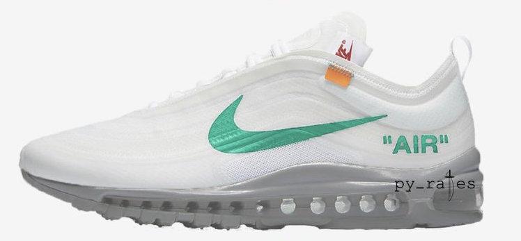 Off-White Nike Air Max 97 OG Menta AJ4585-101