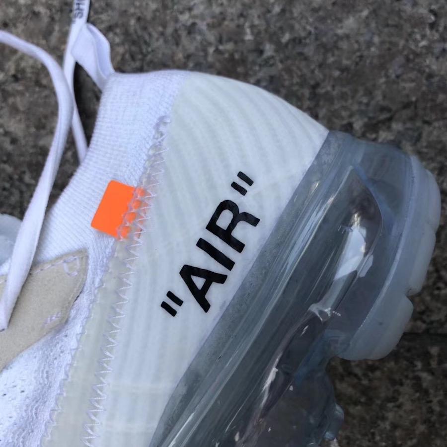 Off White Nike VaporMax Black White Release Dates