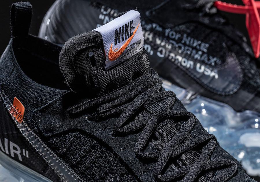 Off-White Nike VaporMax Flyknit Black AA3831-002