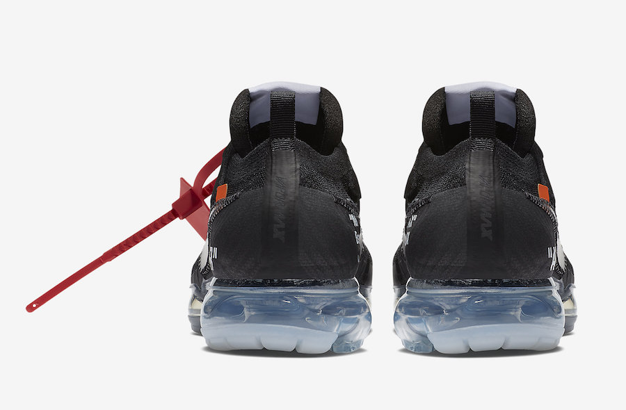 Off-White x Nike Air VaporMax Flyknit Black AA3831-002 Release Details