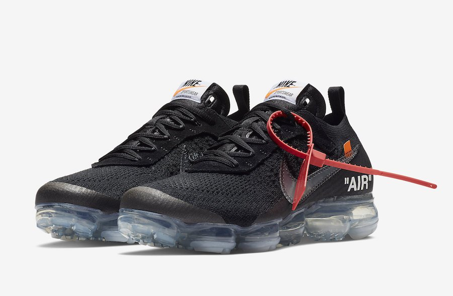 Off White x Nike Air VaporMax Black AA3831 002 2018