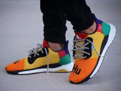 Pharrell adidas Solar Glide Hu On Feet