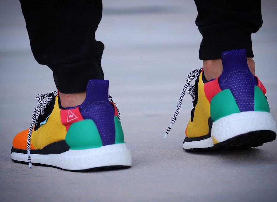 Pharrell adidas Solar Glide Hu On Feet