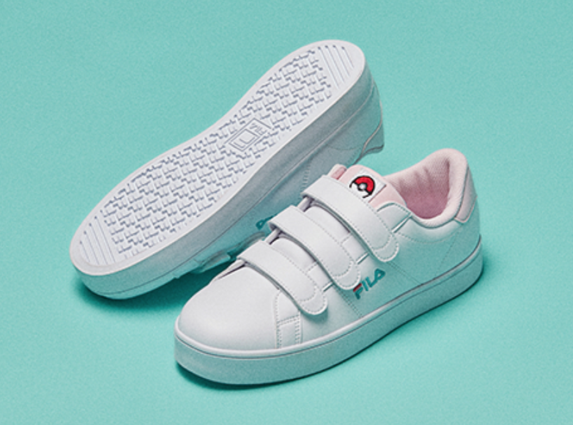 Pokemon Fila Court Deluxe Low Collection