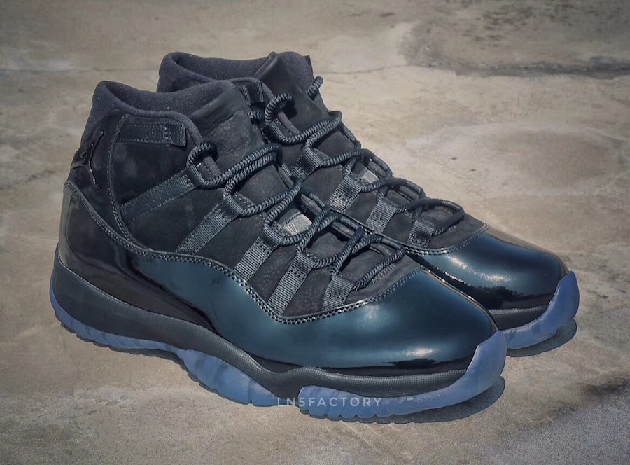 Prom Night Air Jordan 11 Blackout