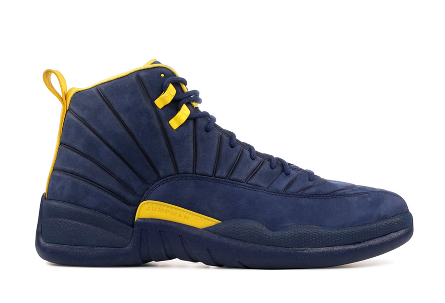 fcc2aad26d1 Air Jordan 12 Michigan BQ3180-407 Release Date