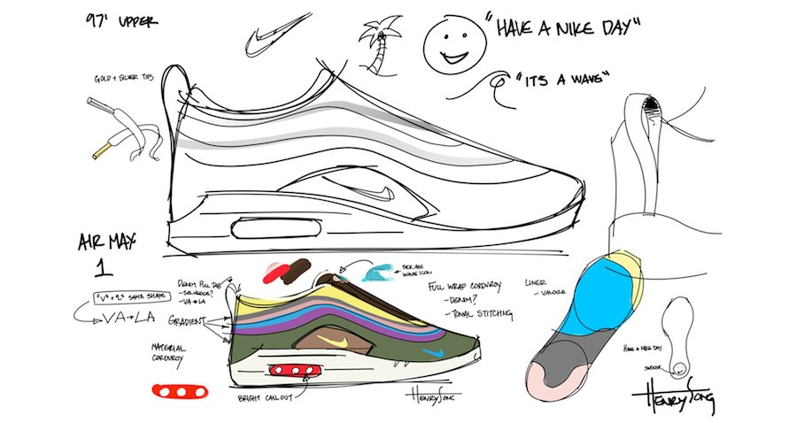 Sean Wotherspoon Nike Air Max 1/97 Design