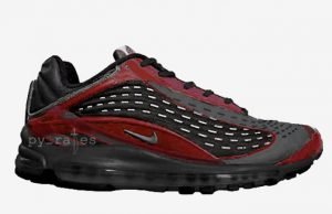 Skepta Nike Air Max Deluxe Black Deep Red Release Date
