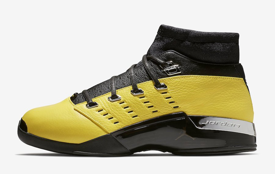 SoleFly Air Jordan 17 Low Lightning Release Date