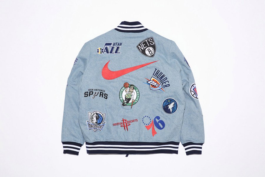 Supreme NBA Nike Jacket