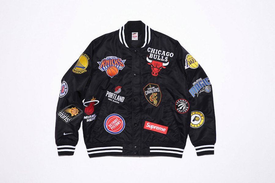 Supreme NBA Nike Jacket Black