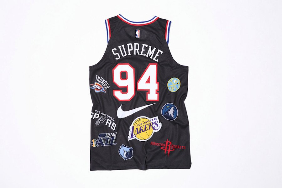 Supreme NBA Nike Jersey Black