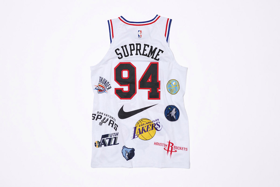 Supreme NBA Nike Jersey White