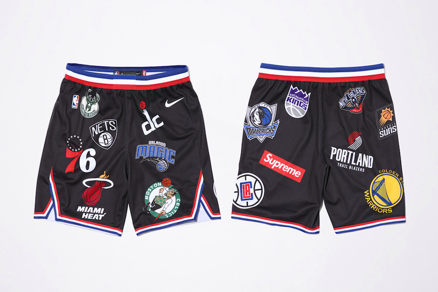 Supreme NBA Nike Shorts Black