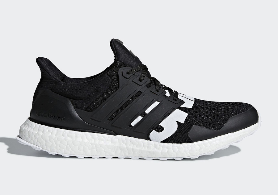 Undefeated adidas Ultra Boost Black B22480