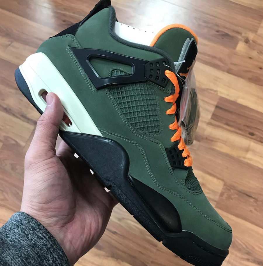 Undefeated Air Jordan 4 2018 Release Date