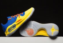 Under Armour Curry 4 Low NBA Jam On Fire