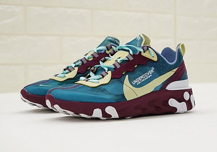 best website 34af4 9ad9b UNDERCOVER Nike React Element 87 Pack Release Info | SneakerFiles