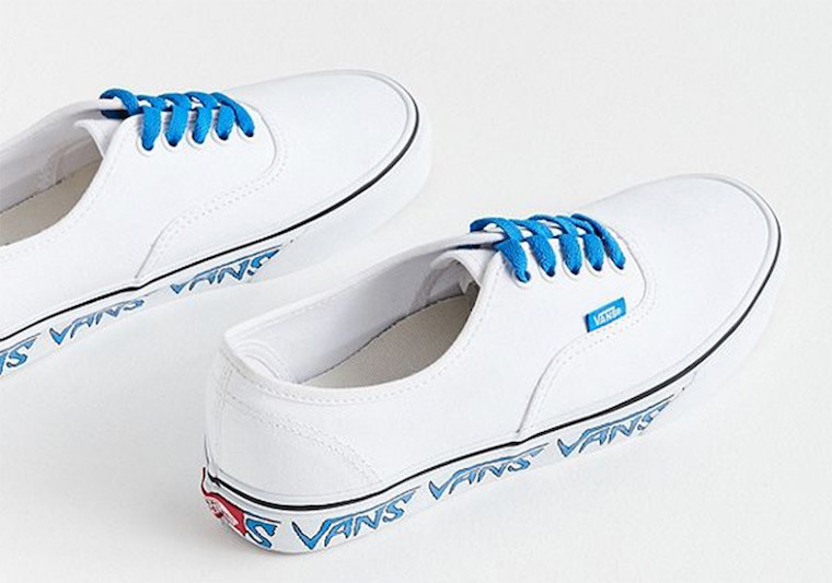 Vans Authentic Sidewall Sketch