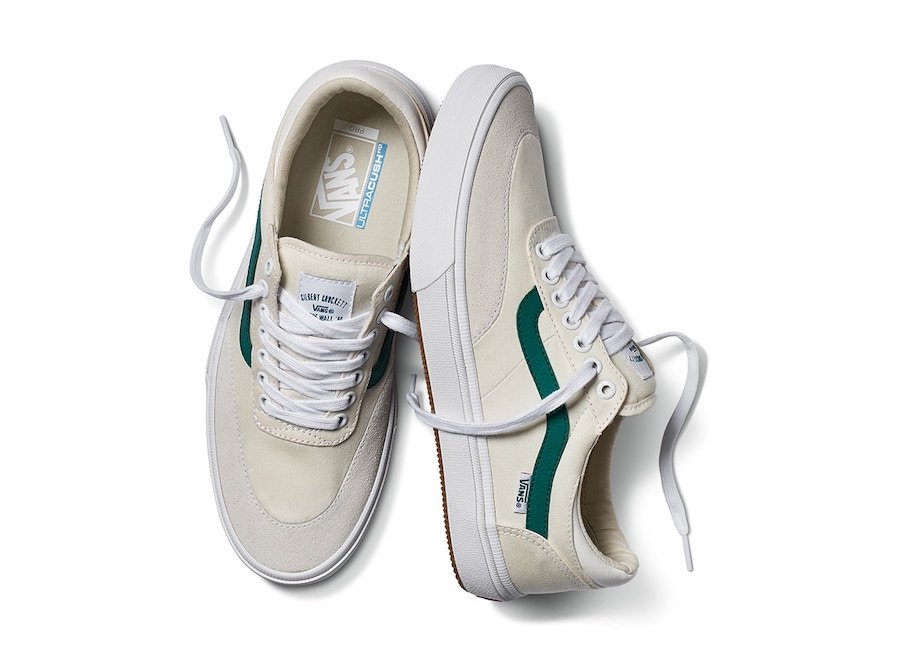 Vans Crockett Pro 2 White Evergreen