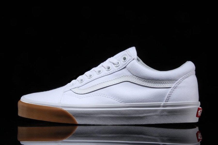 Vans Old Skool White Gum