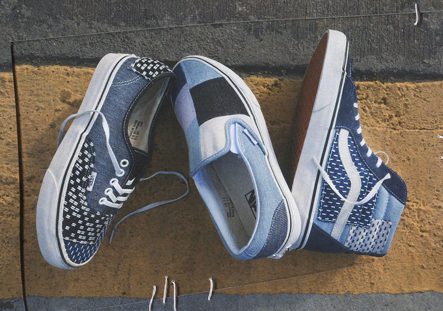 Vans Patchwork Denim Pack Release Date