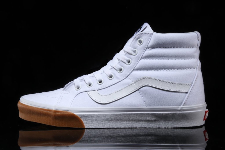 Vans SK8-Hi White Gum