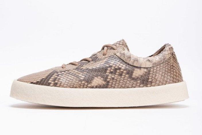 Yeezy Season 6 Python Snakeskin Crepe Sneaker