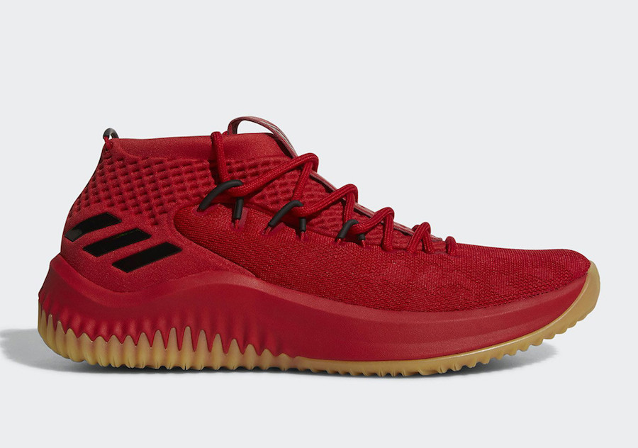 on sale 62797 f5d9f adidas Dame 4 Red Gum CQ0186