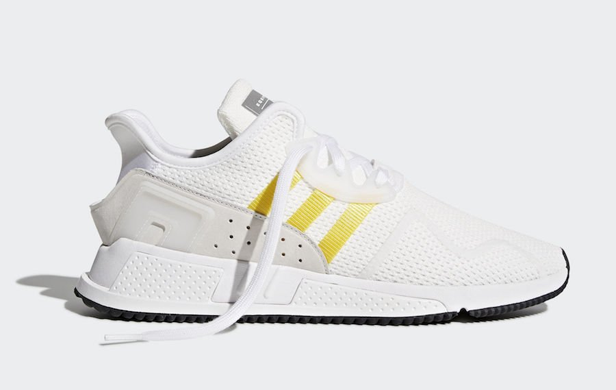 adidas EQT Cushion ADV White Yellow Stripes CQ2375