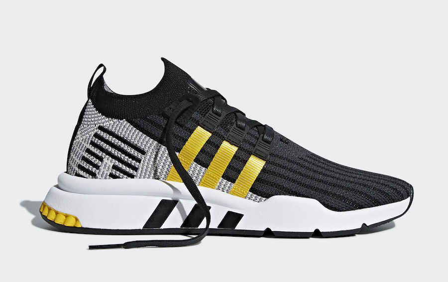 adidas EQT Cushion ADV Yellow Stripes