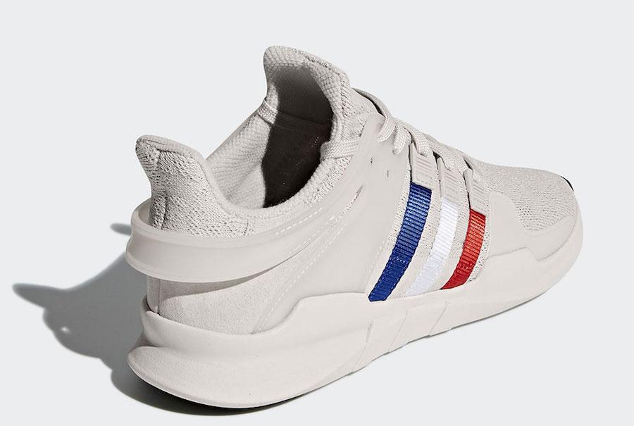 adidas EQT Support ADV Chalk Pearl Tri-Color Stripes CQ3003