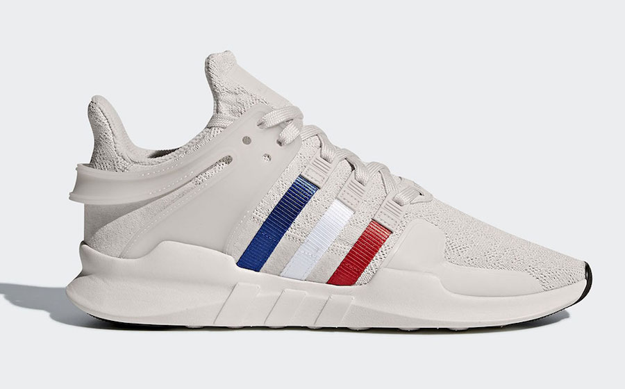 check out e942c b492e adidas EQT Support ADV Chalk Pearl Tri-Color Stripes CQ3003