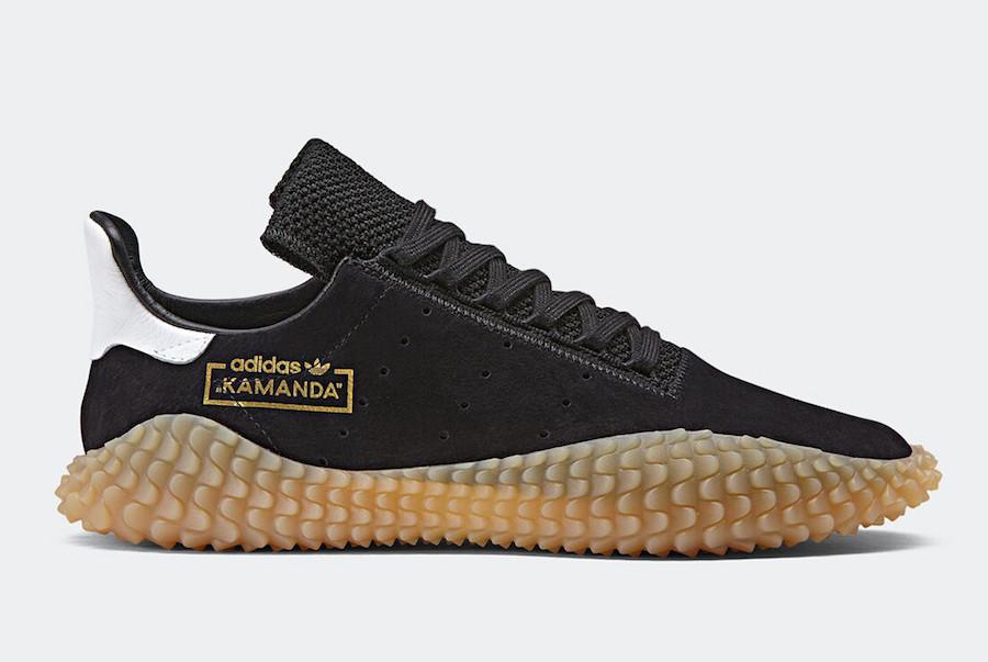adidas Kamanda Black Gum CQ2220
