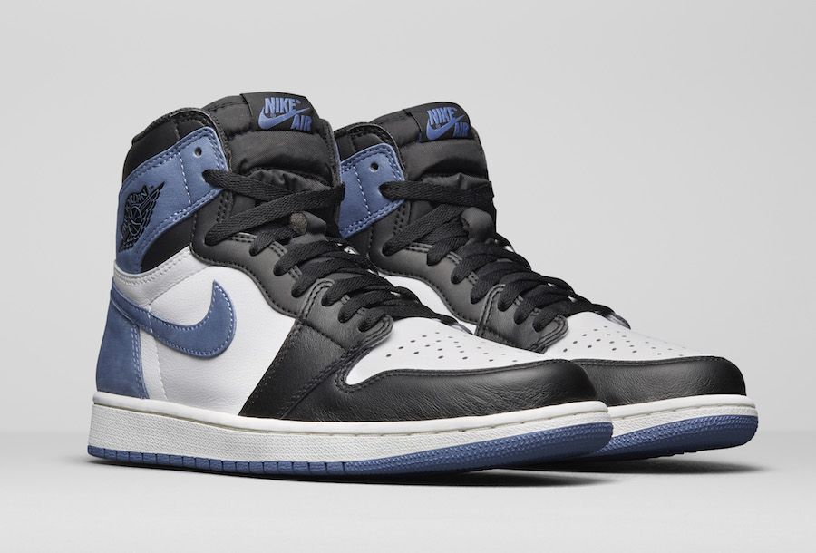 Air Jordan 1 Blue Moon 555088-115 All-Star Appearances