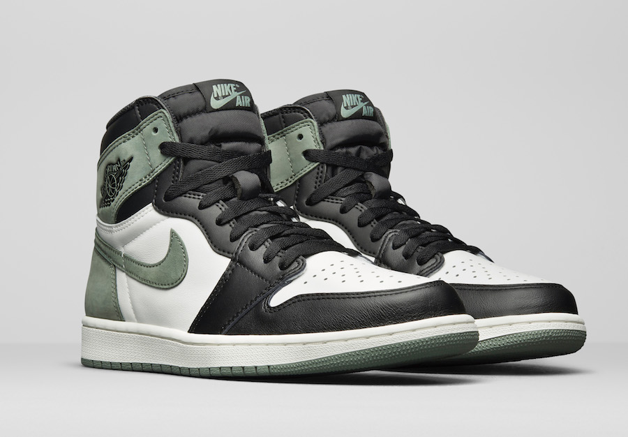 e17073820e8d57 Air Jordan 1 Clay Green 555088-135 Release Info