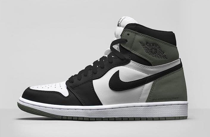 Air Jordan 1 Clay Green 555088-135