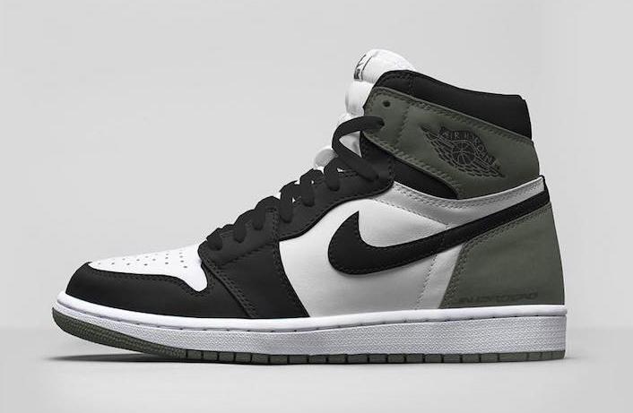 68782b7688ba Air Jordan 1 Clay Green 555088-135 Release Info
