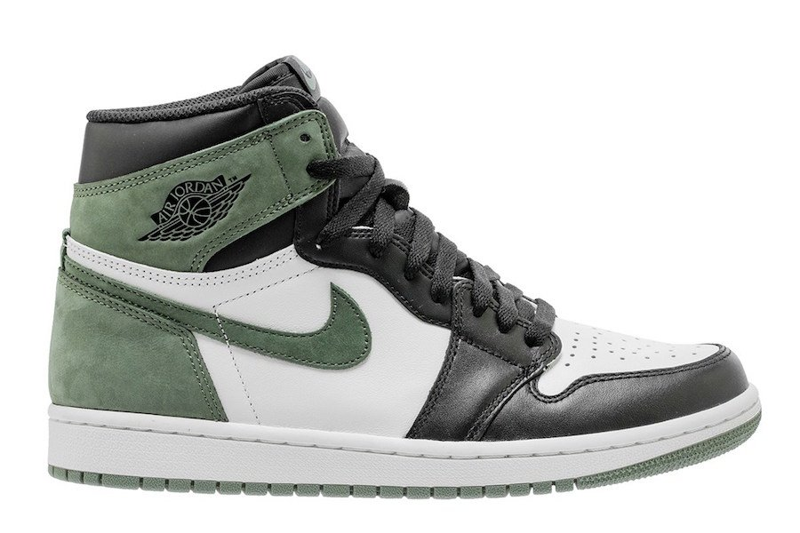 Air Jordan 1 OG Clay Green 555088-135