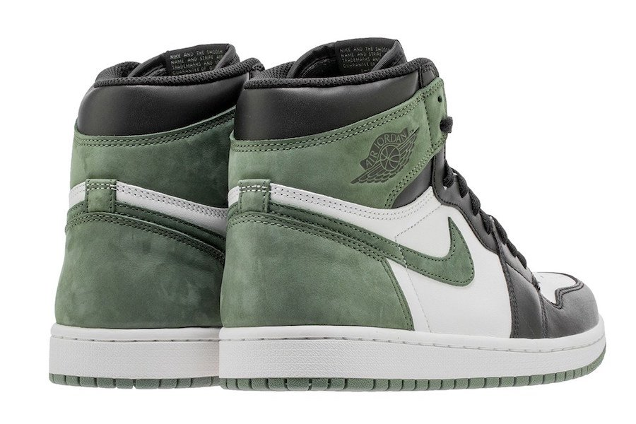 1565650c641545 Air Jordan 1 Clay Green 555088-135 Release Info