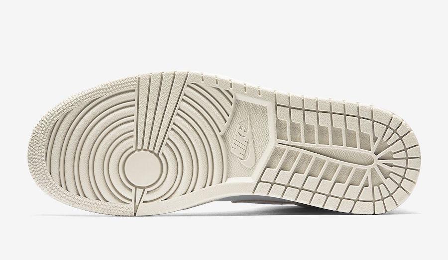 Air Jordan 1 Premium Pure Platinum Desert Sand