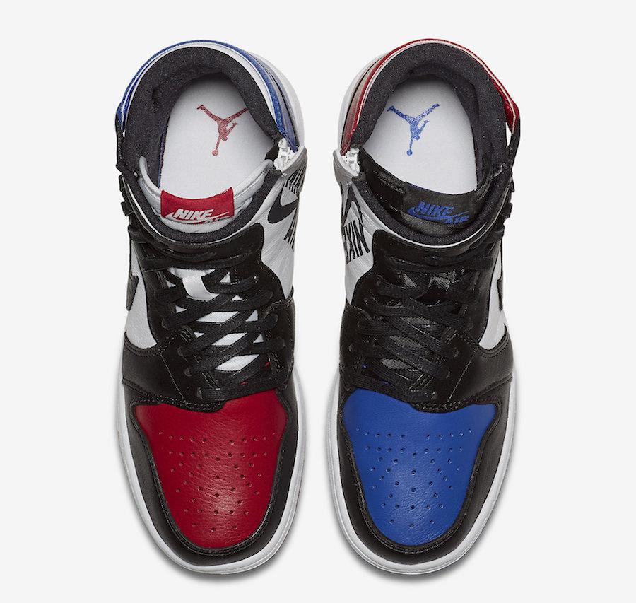 Air Jordan 1 Rebel Top 3 AT4151-001 Release Date
