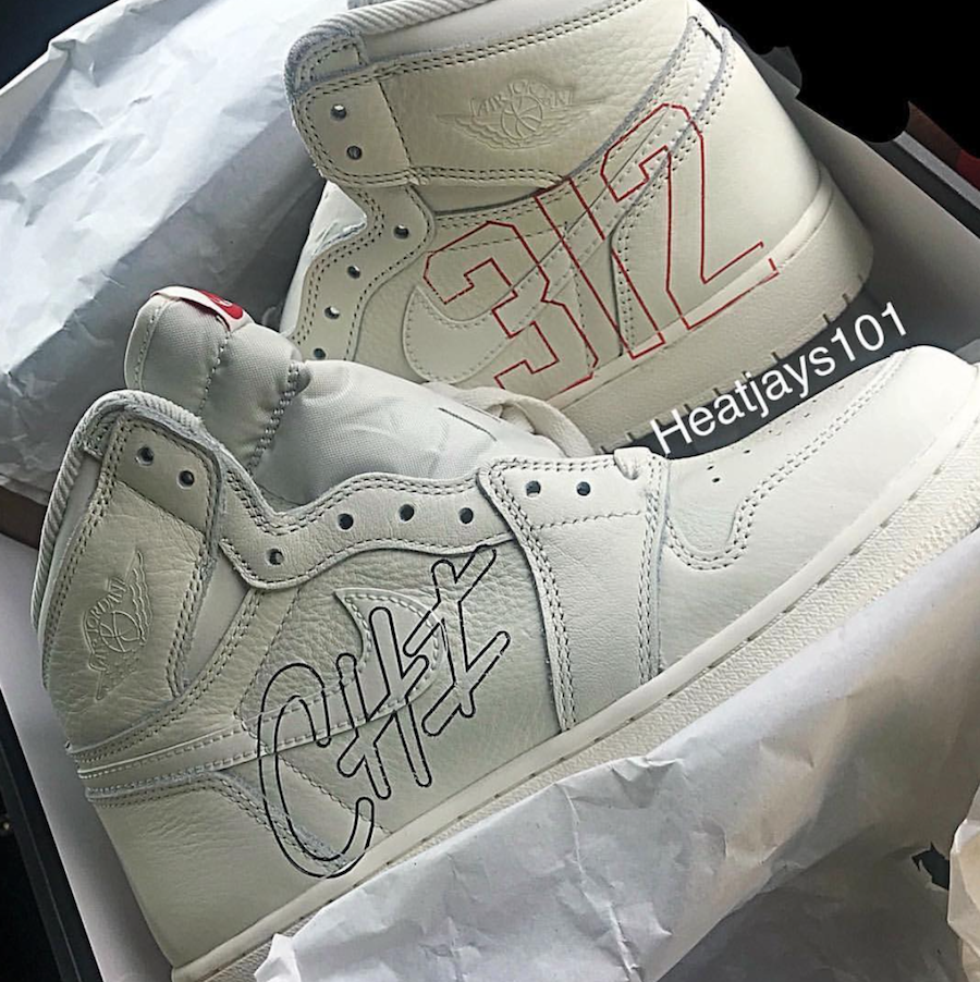 Air Jordan 1 Sail Homage to Home Custom