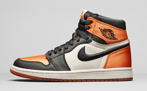 Air Jordan 1 Satin Shattered Backboard Black Starfish