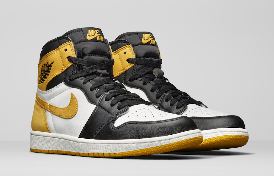 Air Jordan 1 Yellow Ochre 555088-109 Five MVP Awards