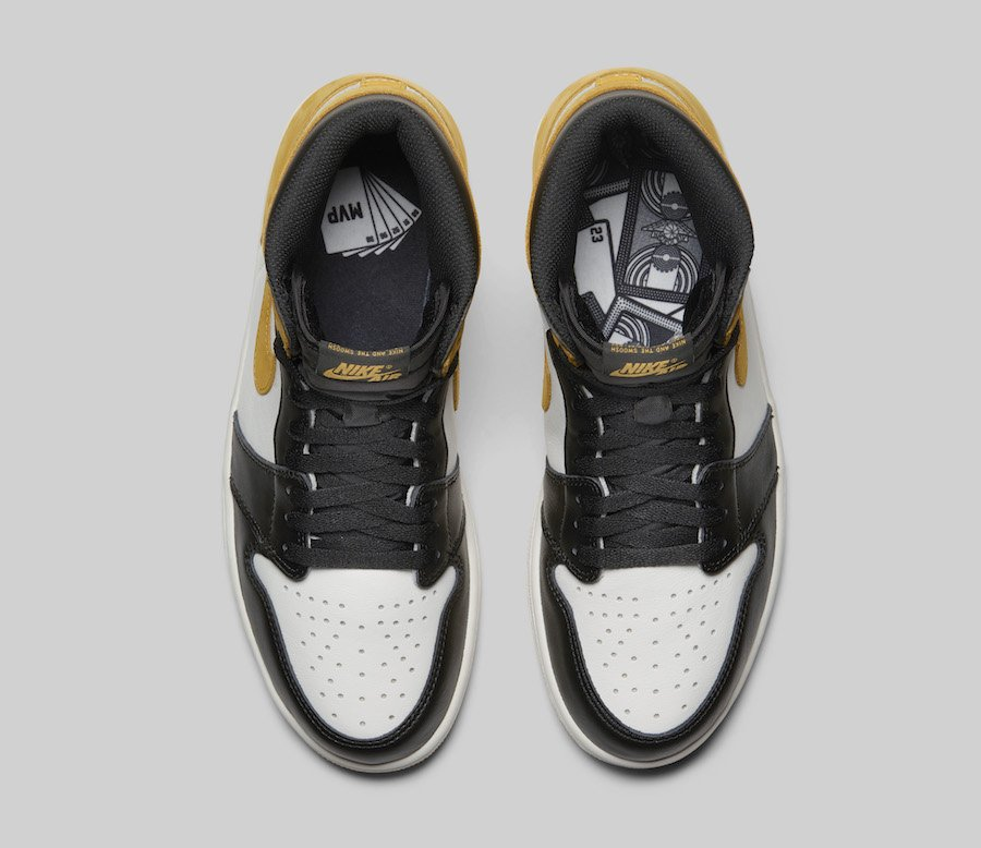 Air Jordan 1 Yellow Ochre 555088-109