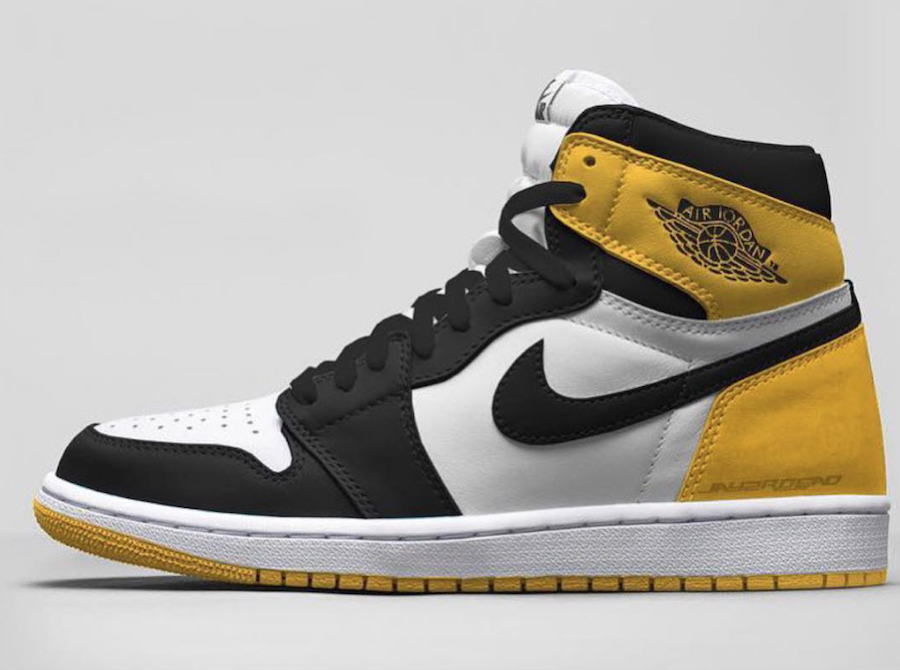 Air Jordan 1 Yellow Ochre 555088-109 Release Date