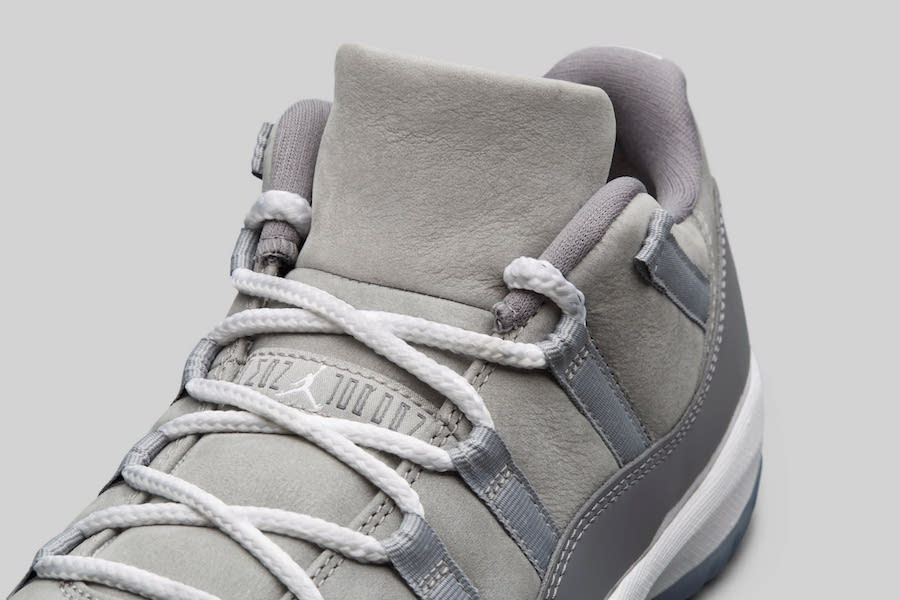 Air Jordan 11 Low Cool Grey Retro 2018