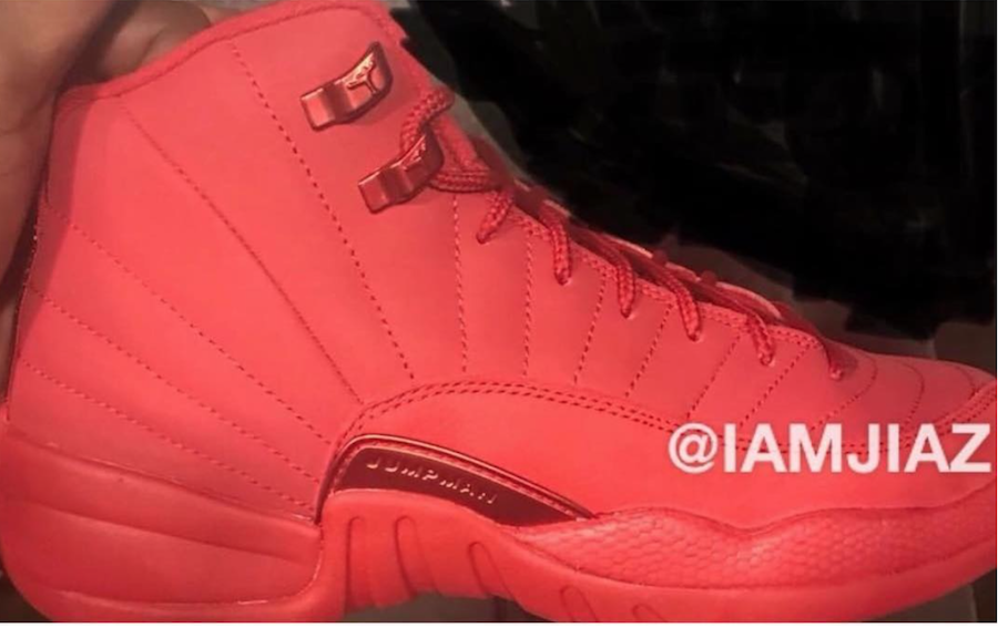 purchase cheap 8b55d 52f9a Air Jordan 12 Bulls Gym Red Black 130690-601 | SneakerFiles